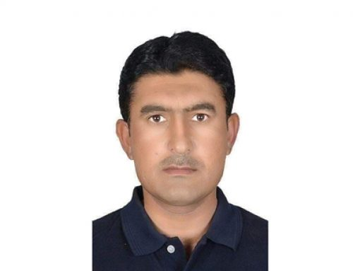 Kaleemullah Khan Secretary of Pakistan Beach Tennis Association