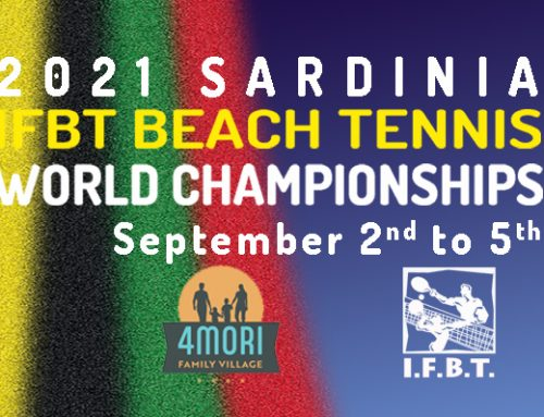 The World Championships will be held in Sardinia-Italy